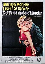 PRINCE AND THE SHOWGIRL GERMAN POSTER.