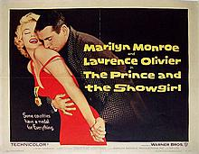 MARILYN MONROE PRINCE AND THE SHOWGIRL US POSTER.