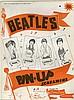 THE BEATLES 1964 SET OF 4 ORIGINAL PIN UP SCREAMERS IN ORIGINAL ENVELOPE.