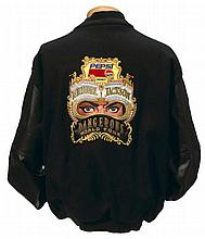 MICHAEL JACKSON BLACK DANGEROUS TOUR JACKET.