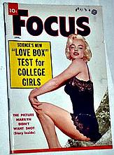 FOCUS 1955 MARILYN MONROE COVER