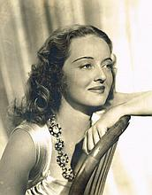 BETTE DAVIS 1939 BILL ROY PHOTOGRAPH