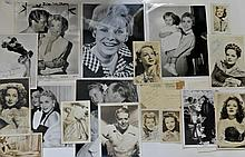 LARGE COLLECTION OF JANET LEIGH AND OTHER MOVIE STARS SIGNED*