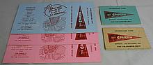 BIG COLLECTION OF ORIGINAL CAVERN CLUB MEMBERSHIP CARDS FROM 1964.