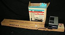 HANIMEX LA RONDE COLOUR SLIDE PROJECTOR.