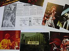 ROLLING STONES UNPUBLISHED PHOTOS FROM WEMBLEY WITH COPYRIGHT.