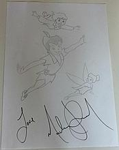 MICHAEL JACKSON DRAWING OF PETERPAN.