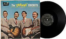 BUDDY HOLLY AND THE CHIRPING CRICKETS BRUNSWICK 54038 ORIGINAL 1957 LP.