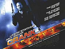 CRANK MOVIE POSTER BRITISH QUAD 30x40 INCHES