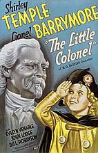 'THE LITTLE COLONEL SHIRLEY TEMPLE POSTER.