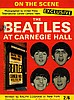 THE BEATLES AT CARNEGIE HALL 1964 MAGAZINE.