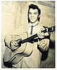 ELVIS PRESLEY IN MEMPHIS 1955 - A JIM REID SIGNED PHOTO