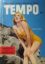 MARILYN MONROE MARCH 1954 TEMPO MAGAZINE.