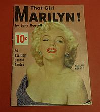 'THAT GIRL MARILYN!' RARE 1954 MAGAZINE