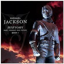 MICHAEL JACKSON: HISTORY BOOK 1 LIMITED GERMAN EDITION