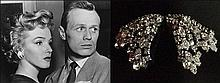 MARILYN MONROE OWNED AND WORN RHINESTONE EARRINGS DON'T BOTHER TO KNOCK*