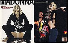 MADONNA THE GIRLIE SHOW BOOK WITH CD.