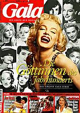 MARILYN MONROE - GALA 31ST JULY 1997 GERMAN MAGAZINE.