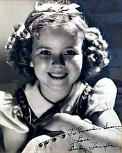 SHIRLEY TEMPLE SIGNED PHOTOGRAPH.