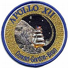 APOLLO 12 MISSION PATCH.