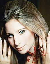 BARBARA STREISAND SIGNED PHOTO.