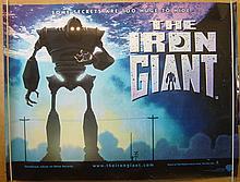 IRON GIANT. ORIGINAL 1999 UK MOVIE POSTER.