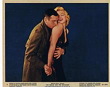 MARILYN MONROE PRINCE AND THE SHOWGIRL 1957 STILLS.