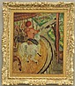 FRENCH PAINTING OF CAROUSEL signed Henri Matisse Paris, 1904 sight- 18