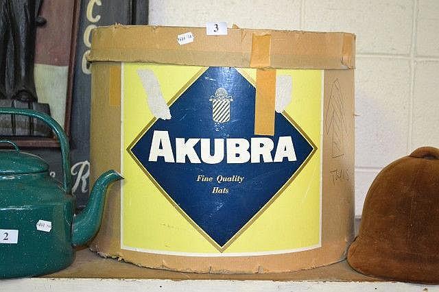Akubra hat box
