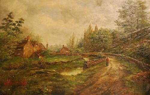 A.E. Boler (1865-1920) - Rivelin Valley, Peak