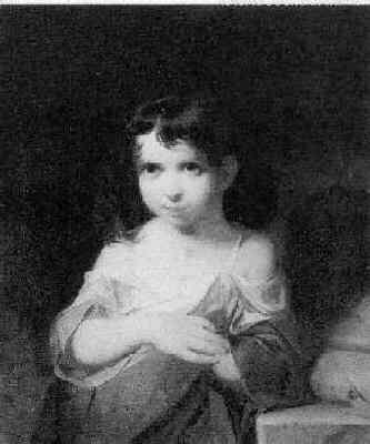 PETER FRED ROTHERMEL (1817-95) THE BEGGAR GIRL
