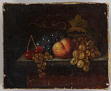Early 19th century still life with fruit,
