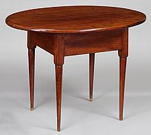 American country maple oval table.