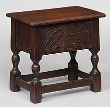 English 19th century joint stool