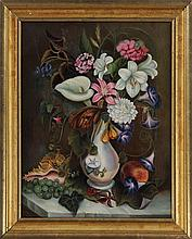Still life with flowers,