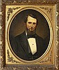 Portrait of Civil War Gentleman in American Antiq Frame