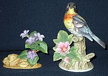 2 Andrea Porcelain Figurines