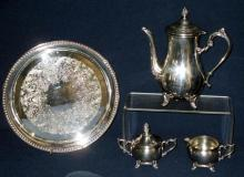 5-Piece Silverplated Coffee/Tea Service