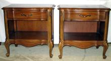 2 Broyhill Premier French Provencial Night Stands