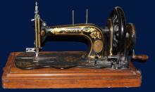 Singer Hand Crank Portable Sewing Machine