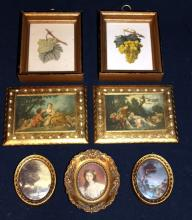 Italian Miniature Art & Framed Prints
