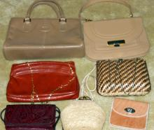 Tans to Red Purse Lot