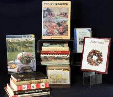 Cookbook Lot w/Recipe Box
