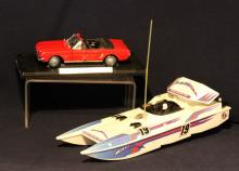Mustang Model & Nikko Racing Boat