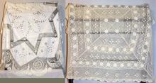 Crocheted & Crocheted Cutwork Table Cloths