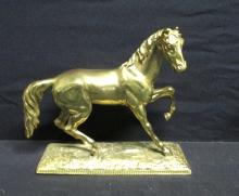 Golden Cast Metal Nicholas Muller Sons Horse