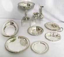 Sterling and Silverplated Hollowware
