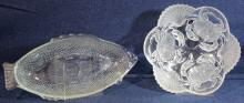 Sea Life Glass Serving Dishes