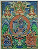 Tibetan Thangka of Guardian
