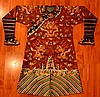 Chinese Burgundy Dragon Robe